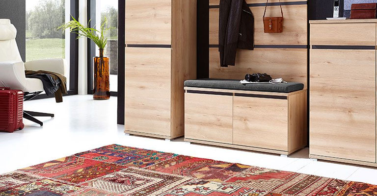 Kombiniranje boja tepiha