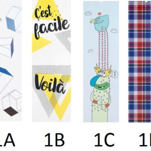 grafično ozadje za garderobno omaro