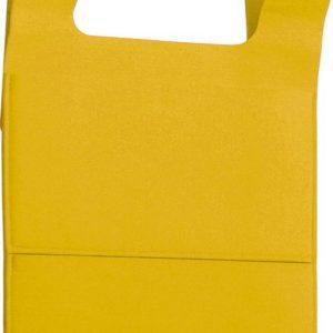 gumijasta viseča vreča 40 x 62 x 1,5 cm – rumene barve