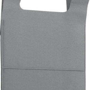 gumijasta viseča vreča 40 x 62 x 1,5 cm – sive barve