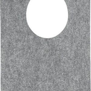 zavesa z okroglo odprtino 55 x 99 x 0,5 cm