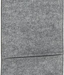 viseča vreča 24 x 62 x 1 cm – sive barve