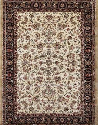 Preproga ANATOLIA rjave barve starinski vzorec