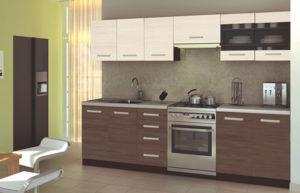Blok kuhinja Amanda 260 cm večbarvna