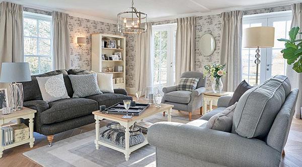 Pohištvo v dnevni sobi