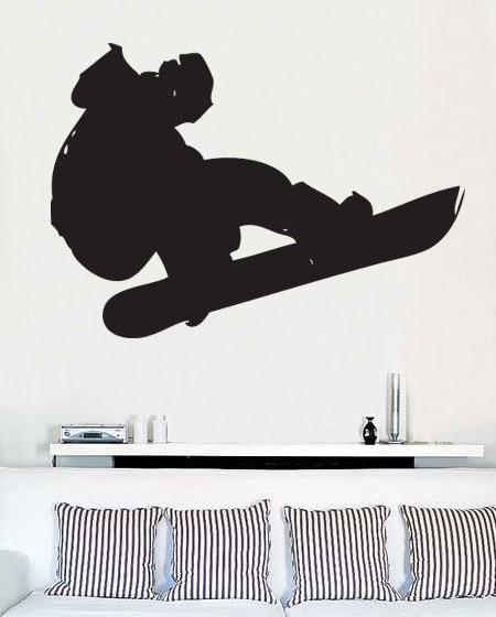 Stenska nalepka Lux G-061 Snowboard
