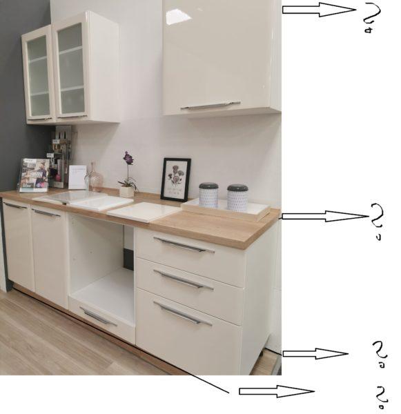 kako izmerimo kuhinjo - načrtovanje kuhinje