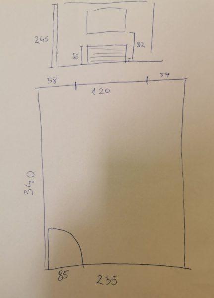 Načrt otroške sobe