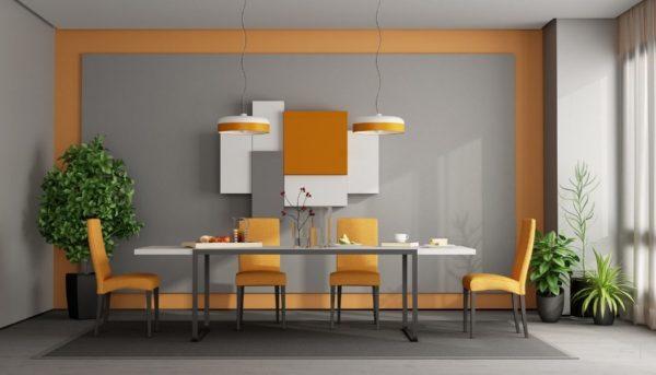 pomen oranžne barve v prostoru